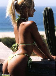 Heather - Poolside 08