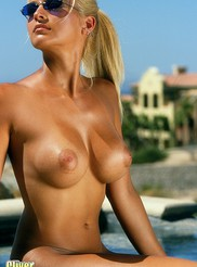 Heather - Poolside 10