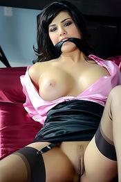 Sunny Leone Bondage