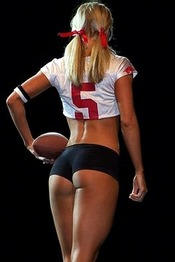Sexy Football Girls